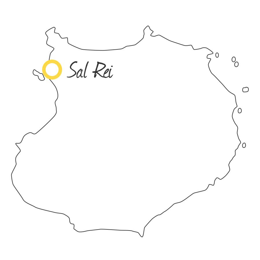 isla de boavista cabo verde mapa capital