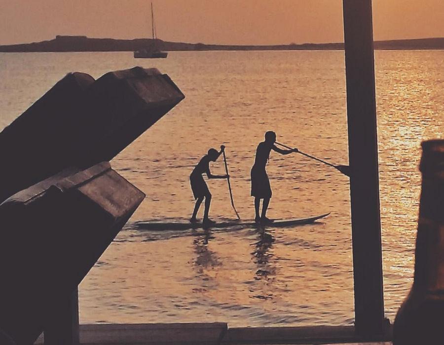isla de boavista deportes acuáticos SUP