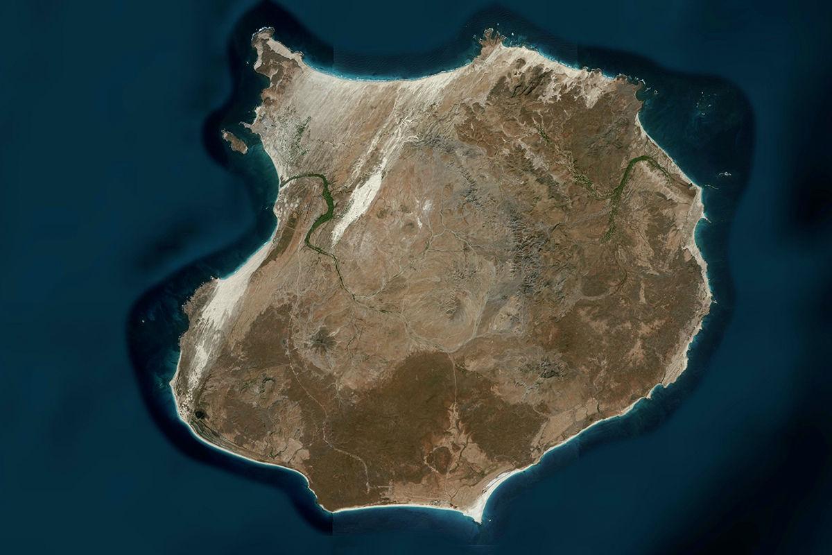 isla de boavista vista satélite