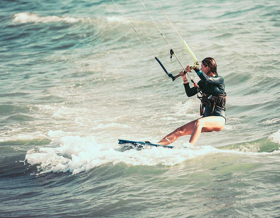 viajes a cabo verde deportes acuaticos kite surf