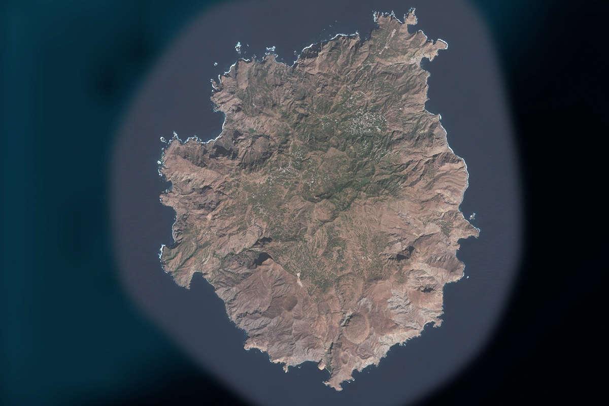 isla de brava vista de satelite maps