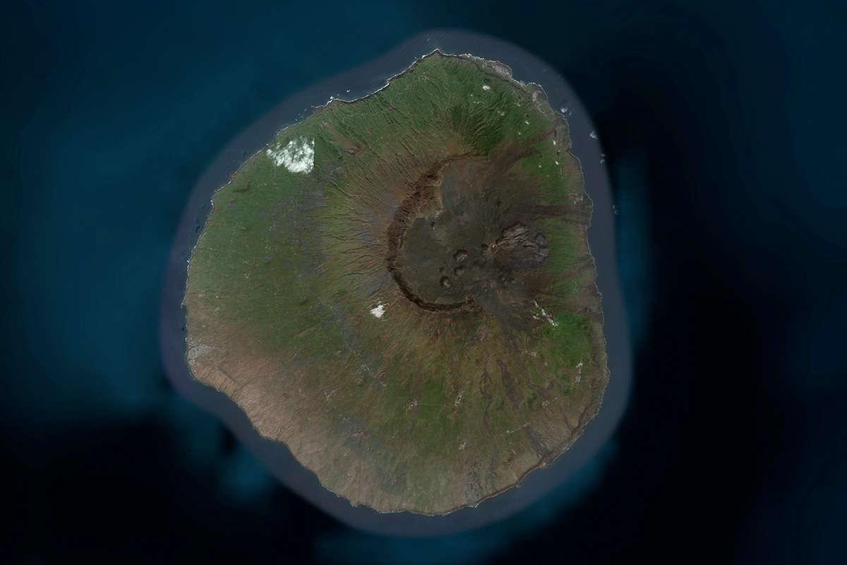 isla de fogo vista de satelite maps