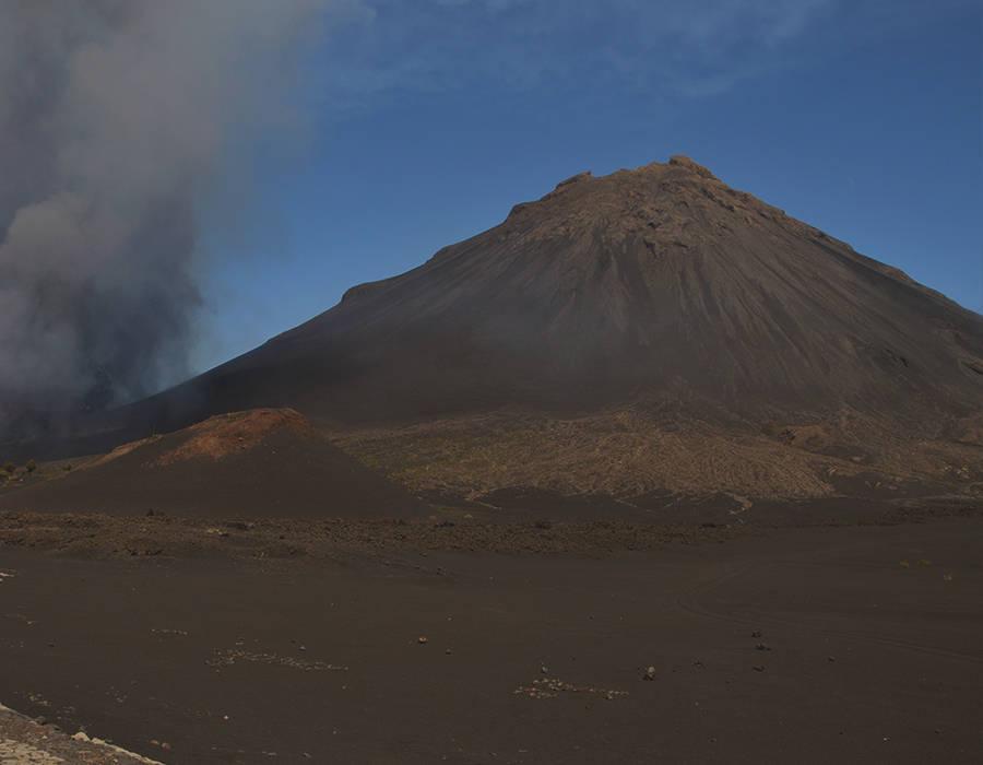 islas de Cabo Verde isla de fogo volcan pico de fogo