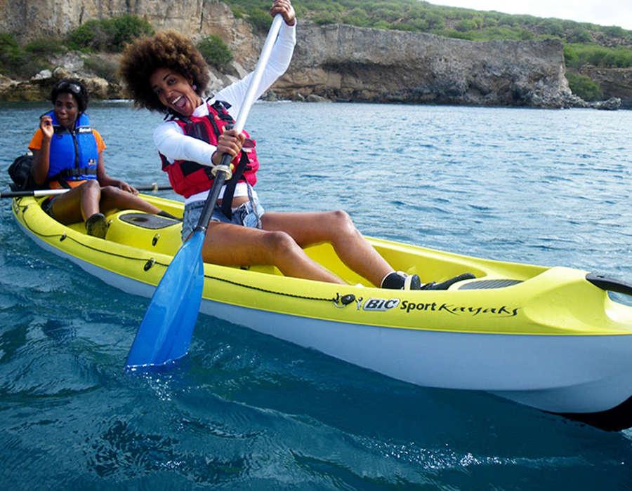 isla de maio kayak rutas