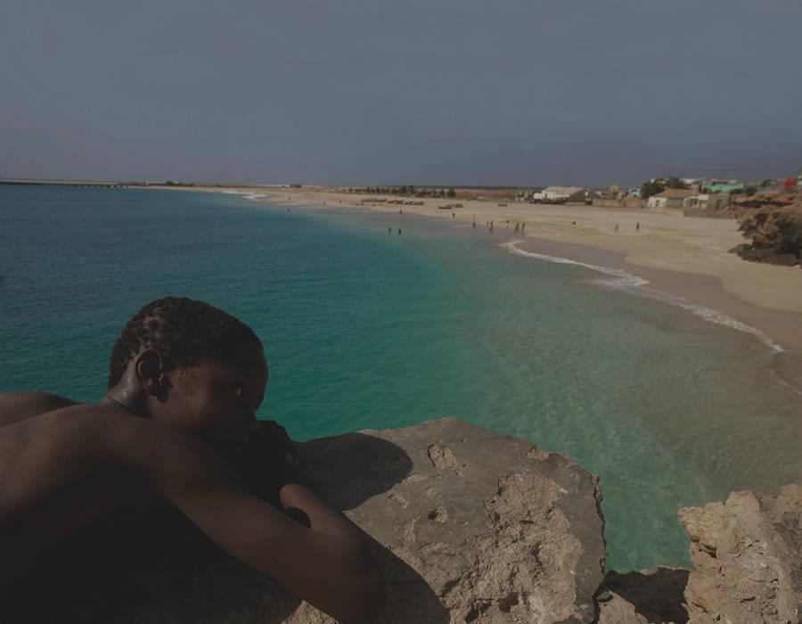 islas de Cabo Verde isla de maio playas tranquilas