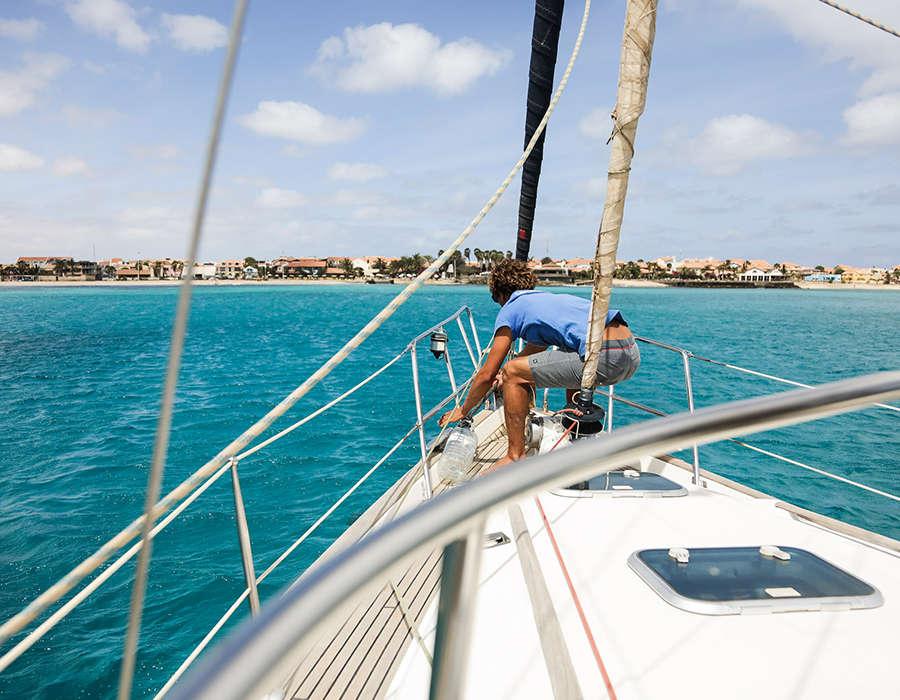 isla de sal navegación en velero