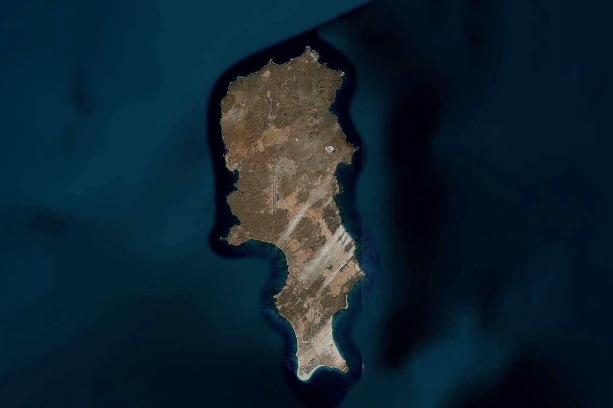 isla de sal vista de satelite maps