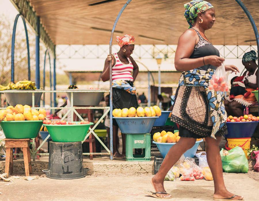 isla de santiago mercados fruta