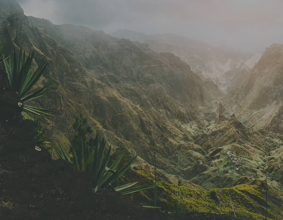 islas de Cabo Verde isla de santo antao senderismo fotografia