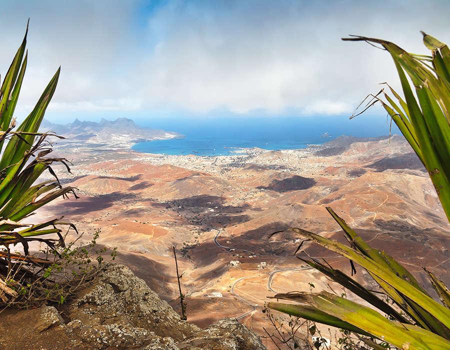 isla de sao vicente trekking vistas