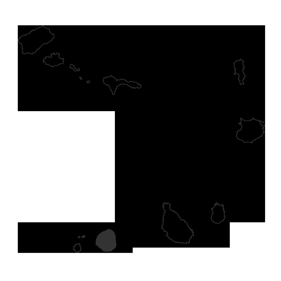 isla de fogo mapa islas