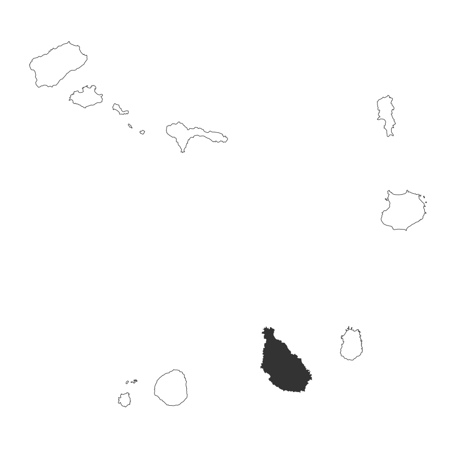 isla de santiago mapa islas