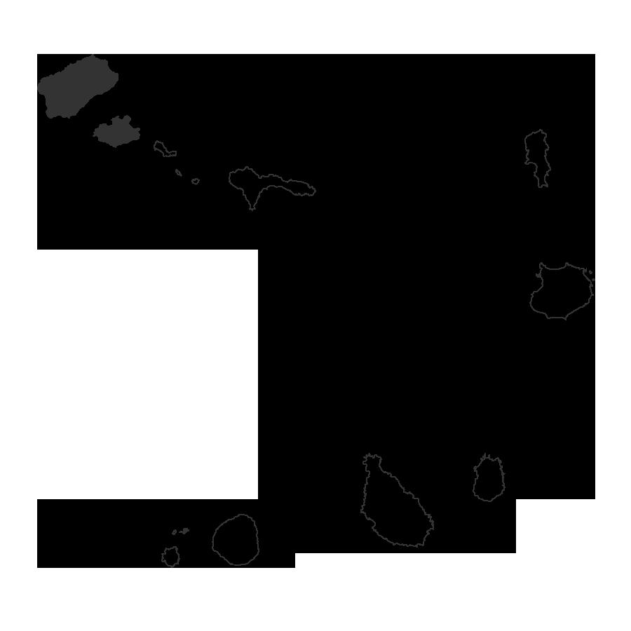 viajes a cabo verde mapa santo antao y sao vicente islas