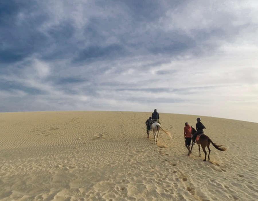 isla de sao nicolau rutas en caballo arena blanca