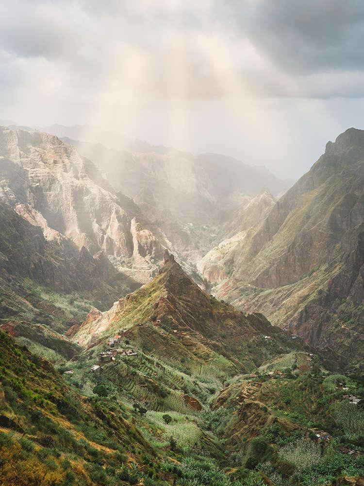 viajes a cabo verde paisajes perspectiva