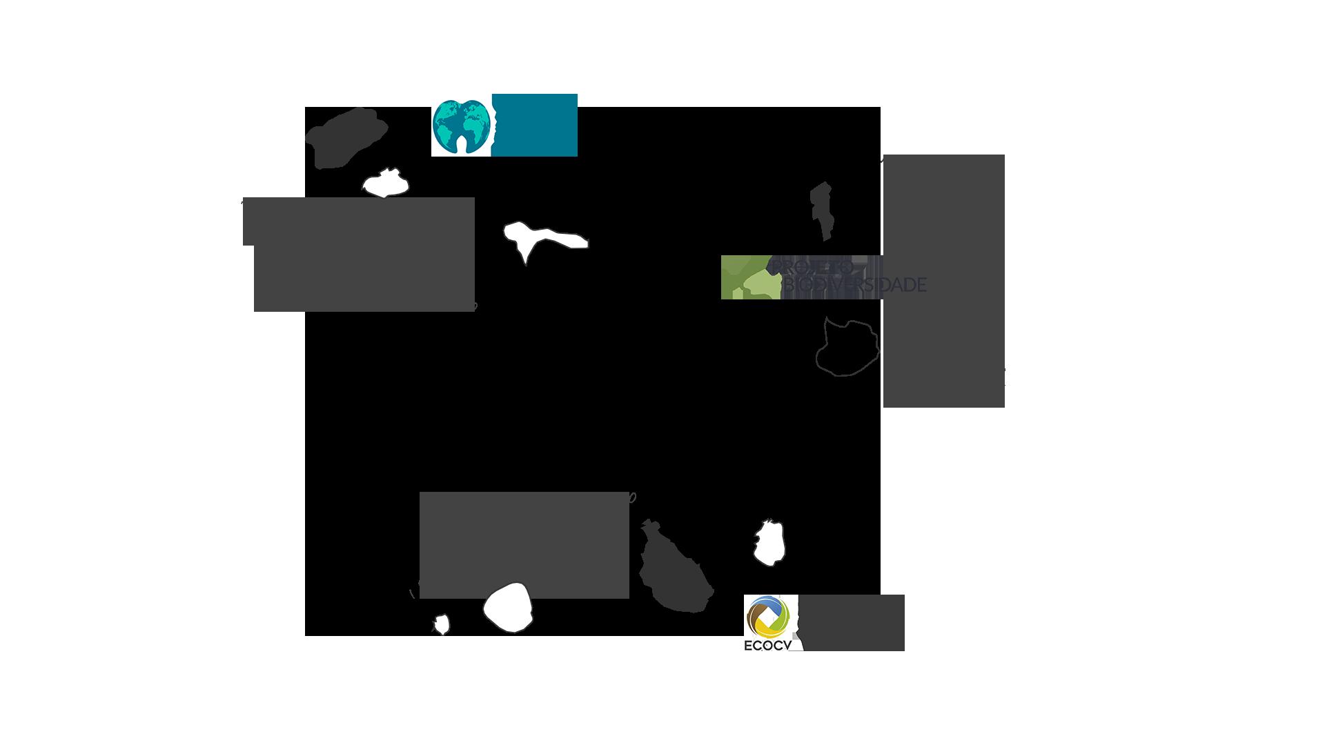 viajes responsables mapa proyectos cabo verde