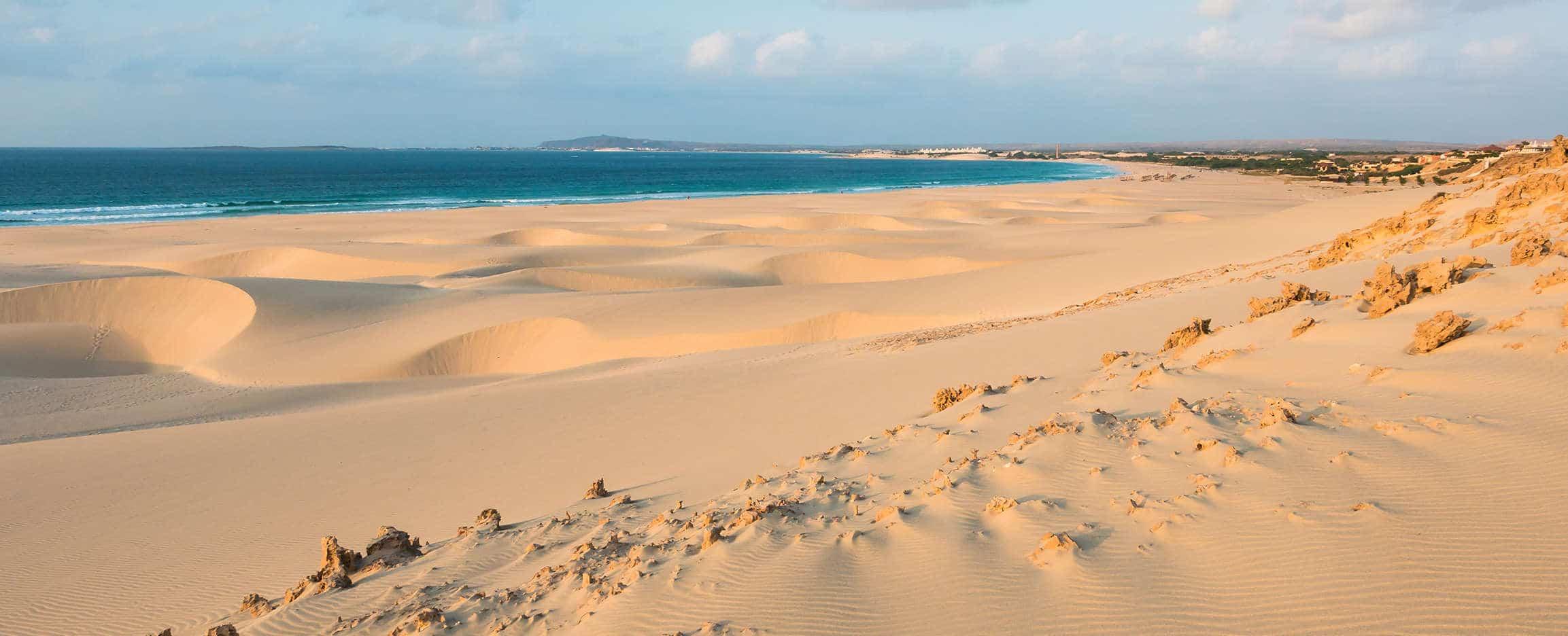 vacaciones en cabo verde playa en boavista