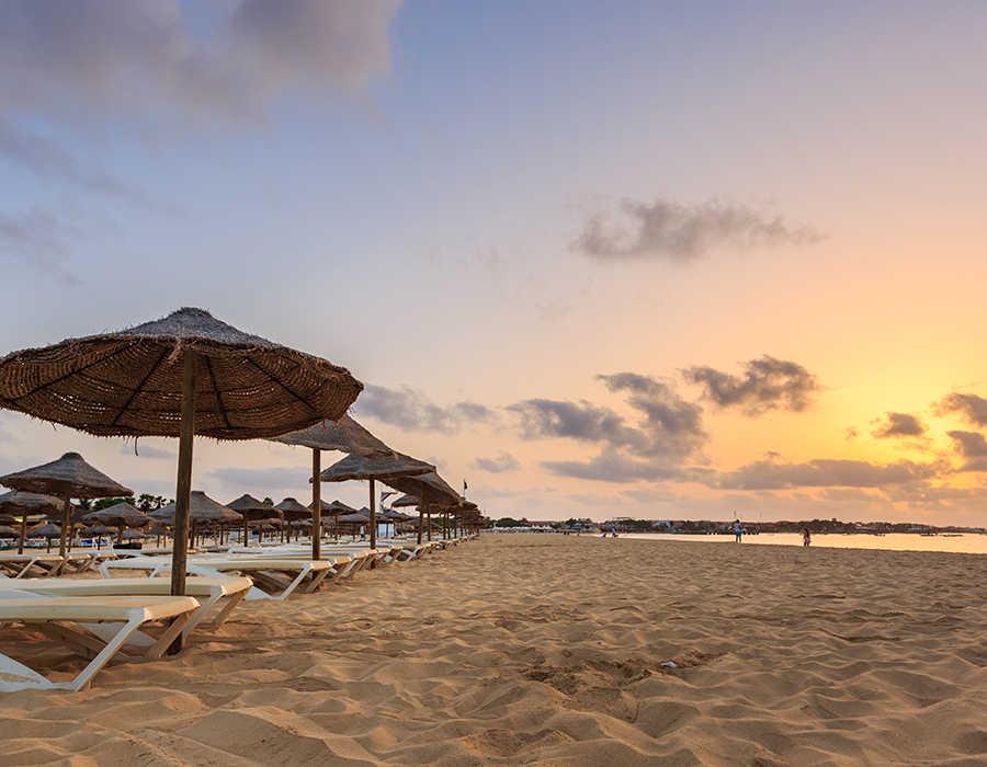 La isla de Sal en Cabo Verde, lugar de fantásticas playas