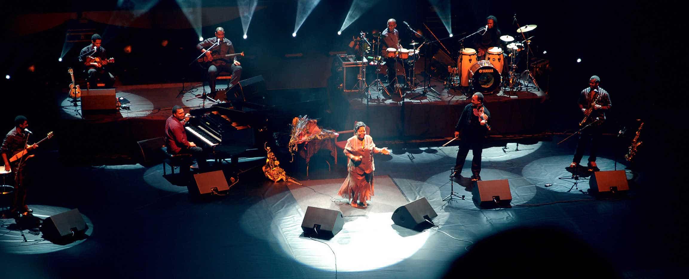 Cesária Évora Cabo Verde concierto