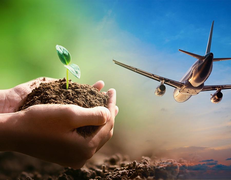 cambio climático en el turismo vuelos