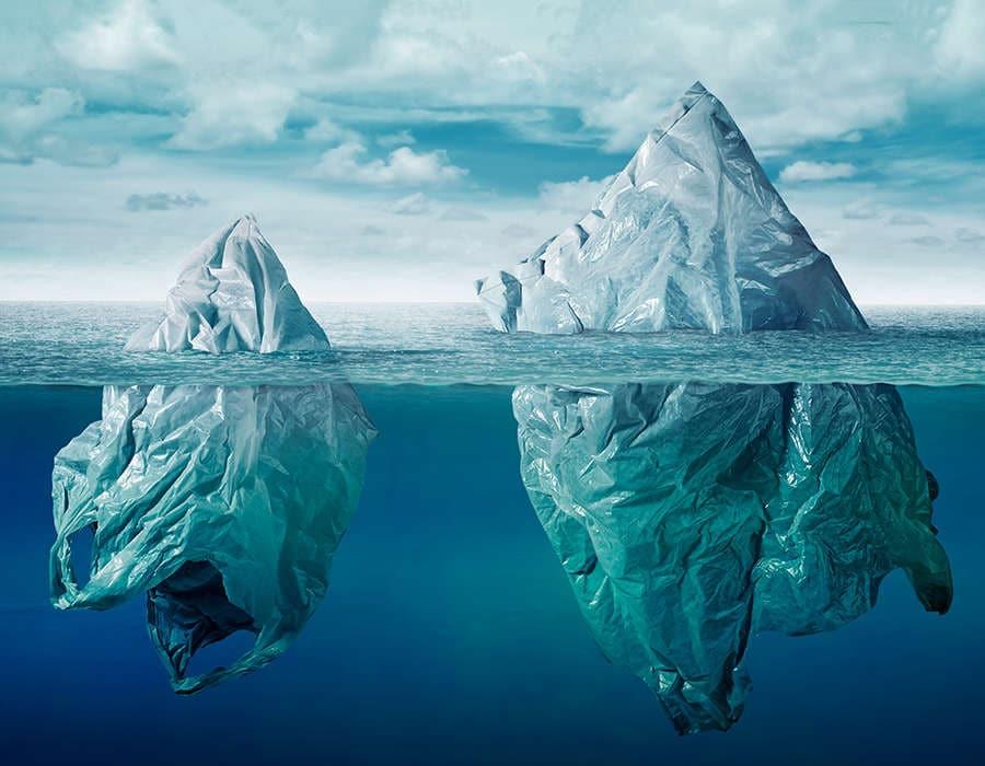 turismo sostenible bolsas de plástico