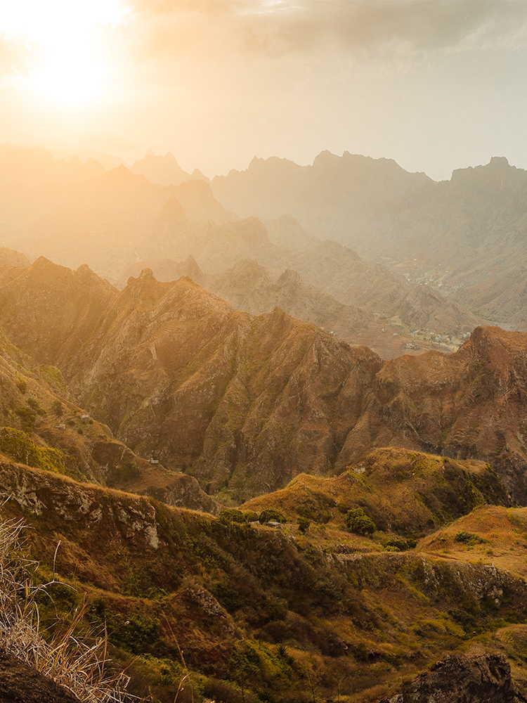 Morabeza de barlovento paisajes santo antao