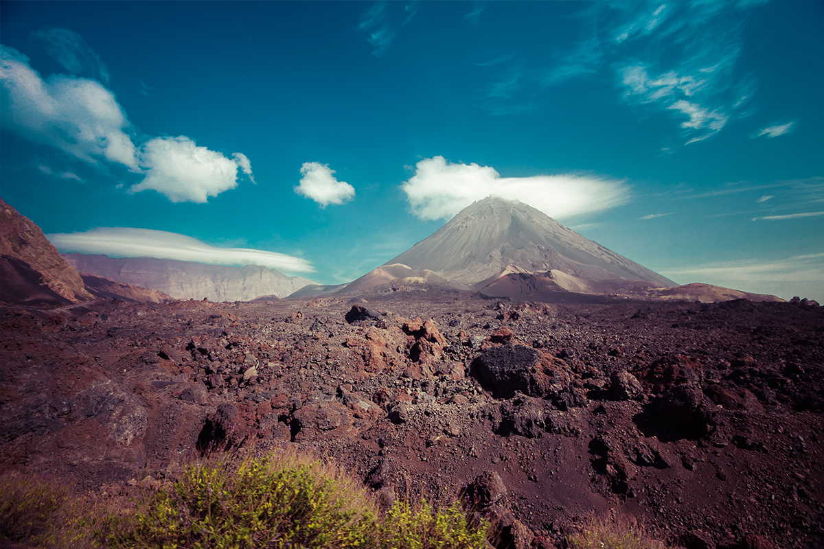 sotavento al completo fogo volcán