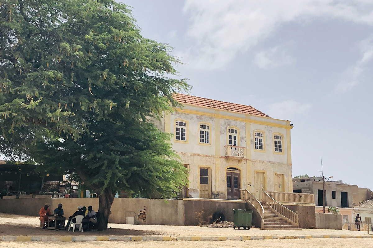 playas de sotavento edificios coloniales