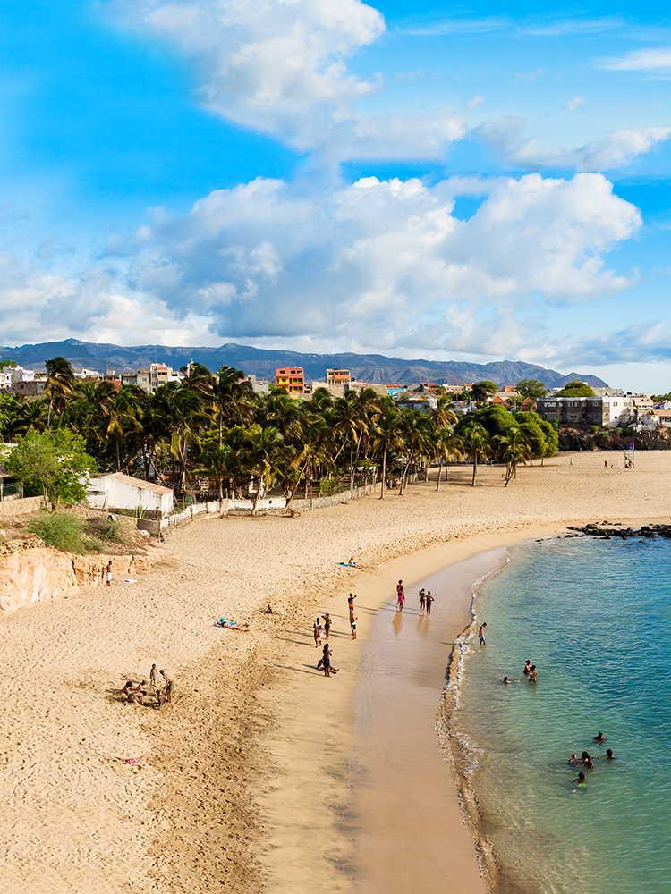 playas de sotavento playa tarrafal en santiago