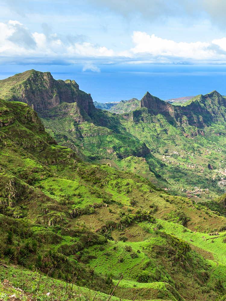 Serra Malagueta paisajes verdes