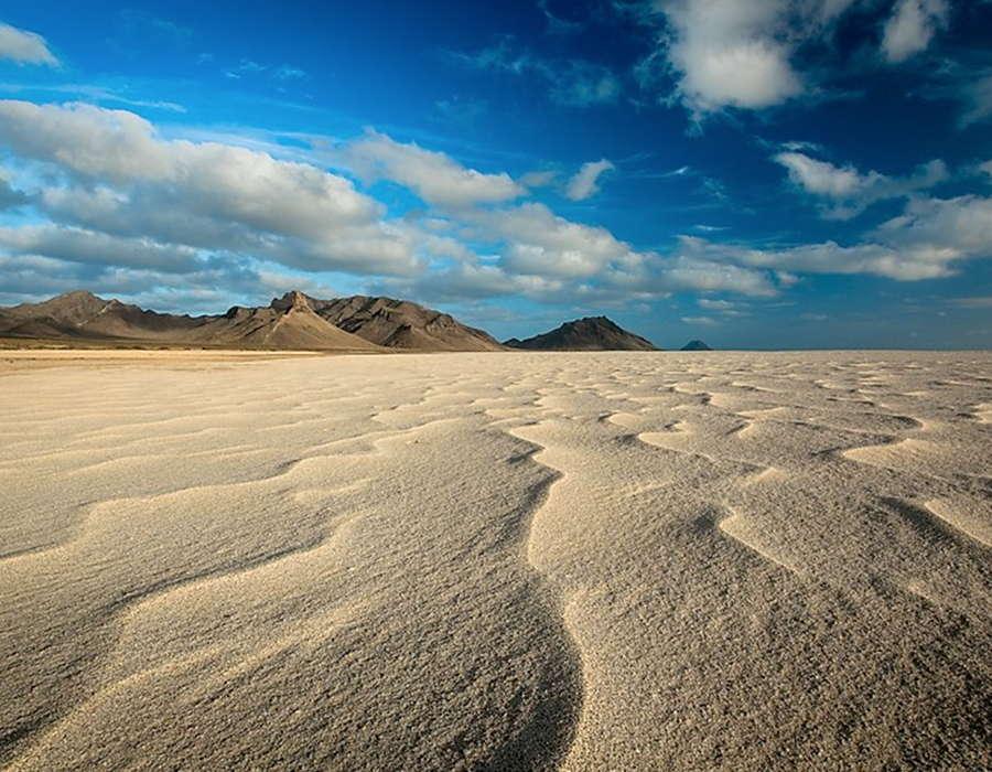 desierto en las islas inhabitadas de cabo verde