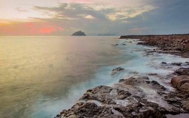 inhabitadas en cabo verde costa biodiversidad marina