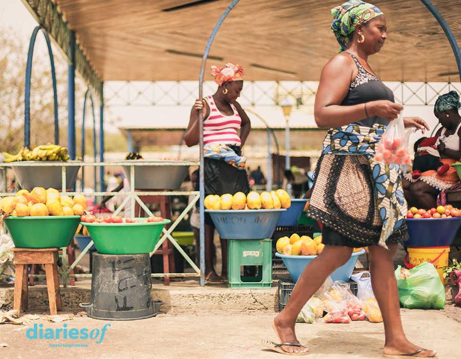 mercados de cabo verde fruta