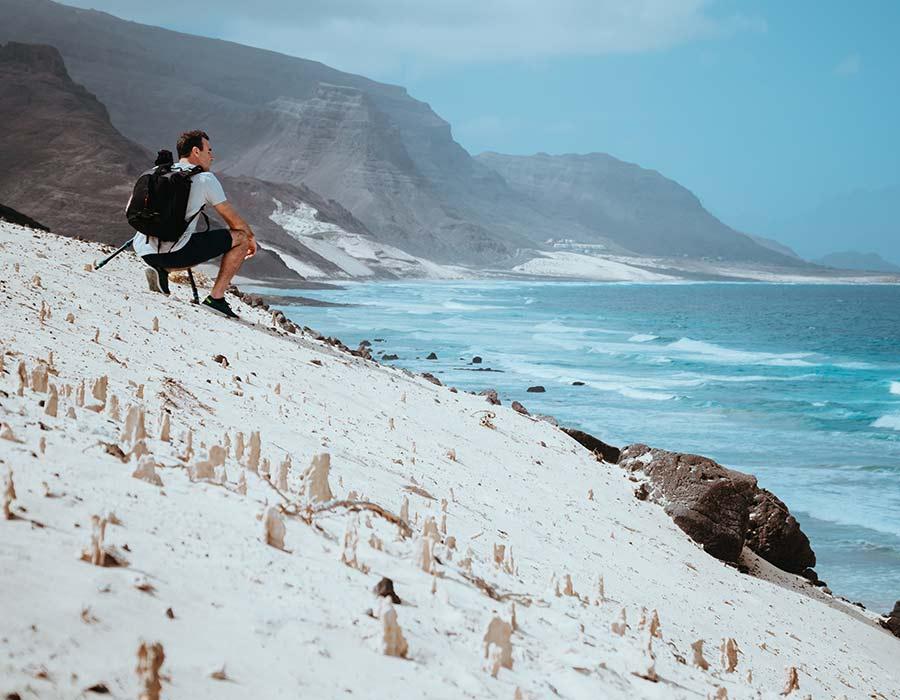 playa en sao vicente arena blanca